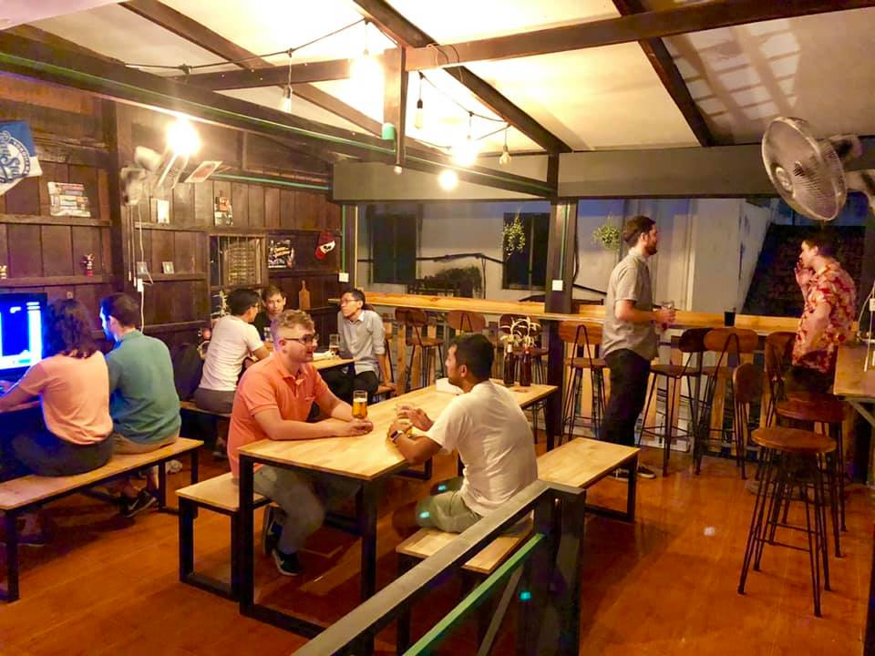 Upstairs Embargo Craft Beer in Phnom Penh