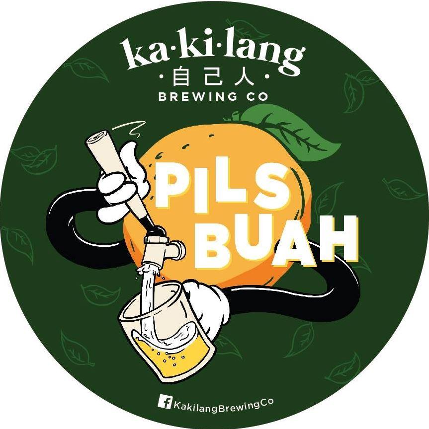 Kakilang Brewing Company Pils Buah
